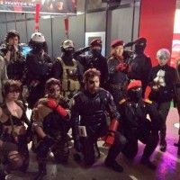 #Cosplay Metal Gear Solid V #PhantomPain #Salon jeux video #TokyoGameShow #TGS2015 #JeuVidéo #Konami