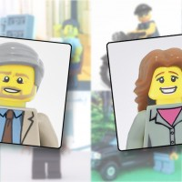 Votre #Portrait en #Lego par Two Three Bricks