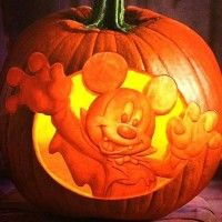 Citrouille Mickey #Vampire #Halloween #MickeyMouse