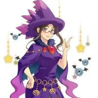 Illustration Pokemon Sorcière Magie Halloween