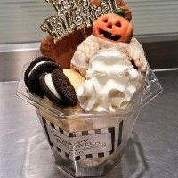Glace topping parfait #Halloween gourmandise