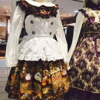 Robe gothic lolita #Halloween déguisement costume #Cosplay #Mode