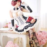 #Cosplay gothic lolita
