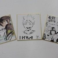 Dessin sur shikishi Seraph of The End Haikyuu Food Wars Jump Festa http://www.tvhland.com/boutique/shikishi-board.html
