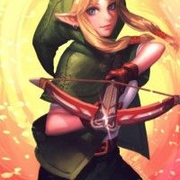 #Dessin Linkle Hyrule Warriors Legends #3ds #JeuVidéo nintendo #Zelda