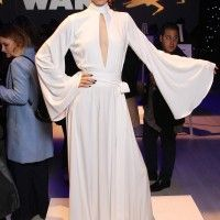Robe fashion façon #PrincesseLeia @StarWarsFR