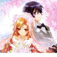 Illustration Sword Art Online mariage