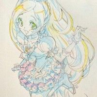 #Dessin #Croquis sketch fille magical girl Pretty Cure par suzuki_mi_ho_ aux crayons de couleur http://www.tvhland.com/boutique/crayon-de-co... [lire la suite]