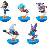 YuraColle Dragon Ball Super Son Goku Vegeta Freezer Whis Beerus