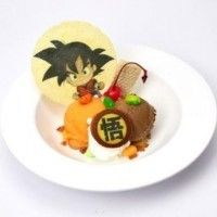 Glace dessert #DragonBall Son Goku japan food #Manga