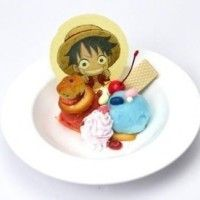 Glace dessert One Piece Luffy japan food manga