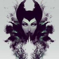 #Dessin #Illustration #Maléfique Maleficient par Jeff Langevin