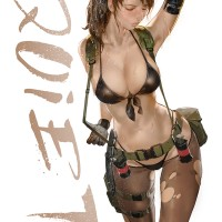 #Dessin illustration #MetalGear Solid V Quiet par ydh2101