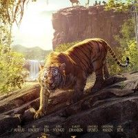 Affiche #Cinéma #LeLivreDeLaJungle tigre Shere Khan