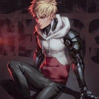 Dessin fanart Genos One Punch Man par jurikoii