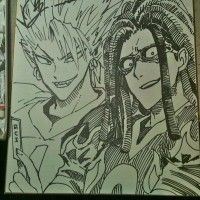 Dessin shikishi Eye Shield 21