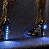 steampunk #Mode chaussures à talons LED
