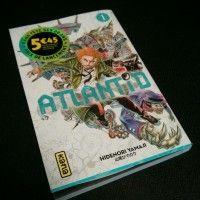 Nous venons de recevoir à la rédac le nouveau shonen de kana :  Atlantid. Le manga sortira le 19 Février. On l'a dévoré! Notre critique bientôt sur le site!