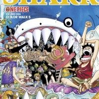 artbook illustrations One Piece color walk 5 Shark