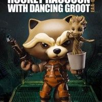 #LesGardiensDeLaGalaxie #Figurines Rocket et #Groot