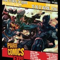 Affiche du salon Paris Comics Expo signée Lee Bermejo