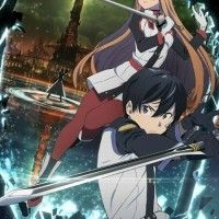 #SwordArtOnline key art par #CharacterDesigner #ShingoAdachi #Animation