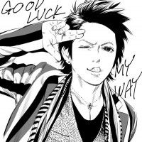 #Dessin hyde Good Luck My Way par hata_yui