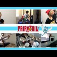 #FairyTail OP 20 - NEVER-END TALE 【コラボしました】 Band Cover