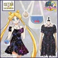 Robe sac à main collier bijou #SailorMoon #Mode