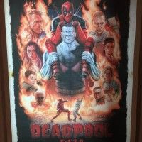 Affiche #Deadpool au #Japon