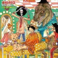 ONE PIECE WALK COLOR 7 TYRANNOSAURUS Oda Eiichiro