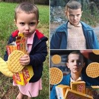 #Cosplay #StrangerThings Onze Elfe Millie Bobby Brown #Halloween