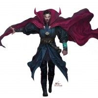 #DoctorStrange #Dessin #Fanart InHyuk Lee #BenedictCumberbatch