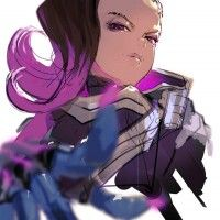 Sombra #Overwatch #Dessin #Fanart So-Bin
