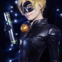 #MiraculousLadyBug #Chat Noir Adrien #Cosplay