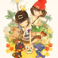 #Pokemon su moon #Dessin ぺち #JeuVidéo