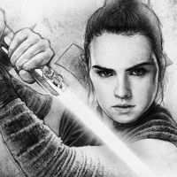 superbe #Dessin Rey pour la Star Wars Celebration Orlando par Paul Shipper
