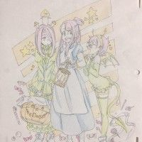 #LittleWitchAcademia #Dessin ねりけしくん crayons de couleurs #CrayonDeCouleurs #Anime