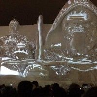 Festival Neige Sculpture glace Sapporo Star Wars #KyloRen