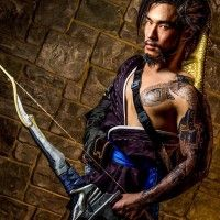 #Cosplay de Hanzo d'#Overwatch par CookInTights