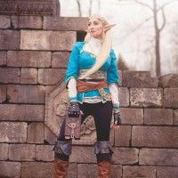 Cosplay de Zelda breathe of wild Holly Wolf