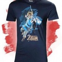 Tshirt zelda breathe of wild 23$