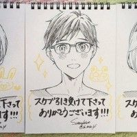 Yuri On Ice portraits dessin fanart s_zsr_4
