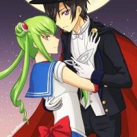 Code Geass cosplayé en Sailor Moon