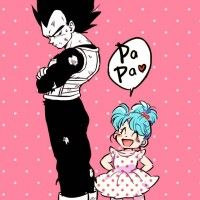 Love Papa Vegeta Dragon Ball dessin tkgsize