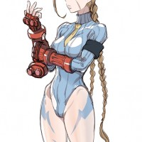 Cammy White Street Fighter dessin kirusu
