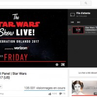 On est en train de regarder le live @StarWarsFR!!! Il me faut un trailer de ouf!!!!!