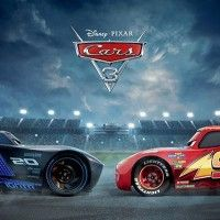 Affiche #Cars3 #FlashMcqueen face à son destin le 2 août au #Cinéma #Animation