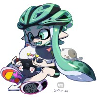 #Splatoon #Nintendo Switch #Dessin 竹画廊 #JeuVidéo #JeuxVideo #Manga