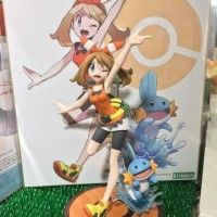 #Figurine et #Shikishi Haruka May #Pokemon #Dessin #DessinSurShikishi #JeuVidéo